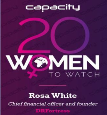 DRFortress CFO Rosa White Featured on Capacity Magazine's 20 Women to Watch List