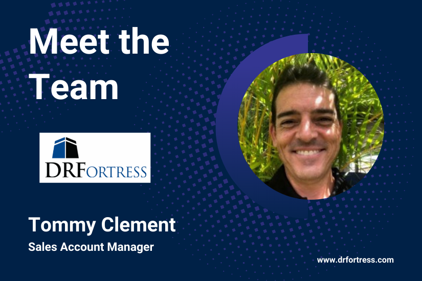 Meet the DRFortress Team: Tommy Clement